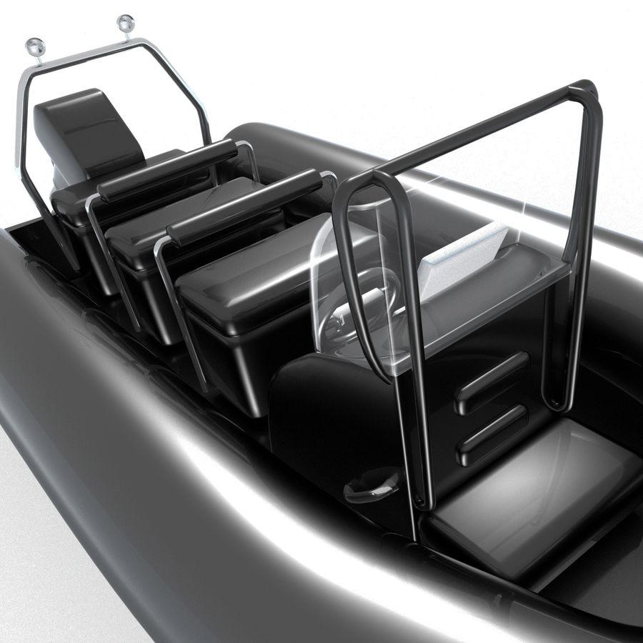 両生類のボート royalty-free 3d model - Preview no. 3