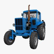 "Трактор МТЗ-80 ""Беларусь"" 3d model"