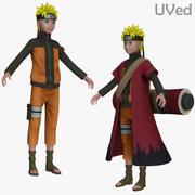 火影忍者Uzumaki疾风传Sage UVed 3d model