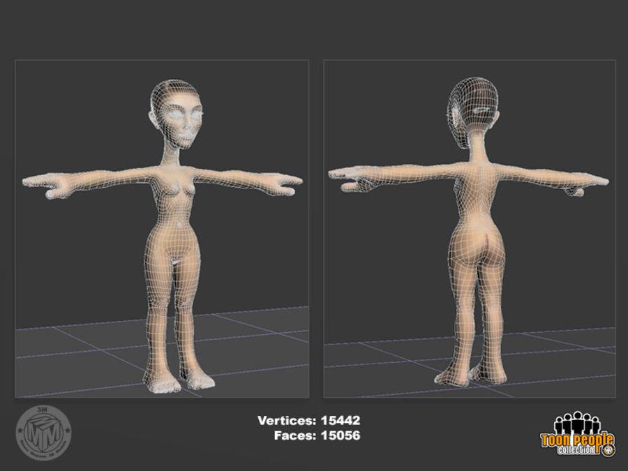 Eva_Prom Dress royalty-free 3d model - Preview no. 5