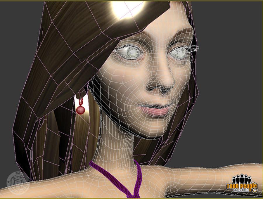 Eva_Prom Dress royalty-free 3d model - Preview no. 8