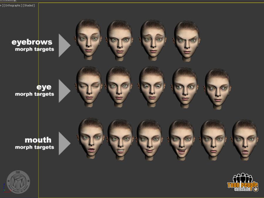 Eva_Prom Dress royalty-free 3d model - Preview no. 9