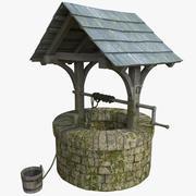 水井 3d model