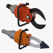 Hydraulic Rescue Tools 3d model