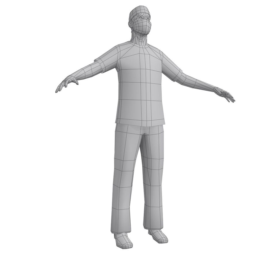 Cerrah 1 LOD1 royalty-free 3d model - Preview no. 13