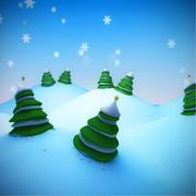 冬の環境 3d model