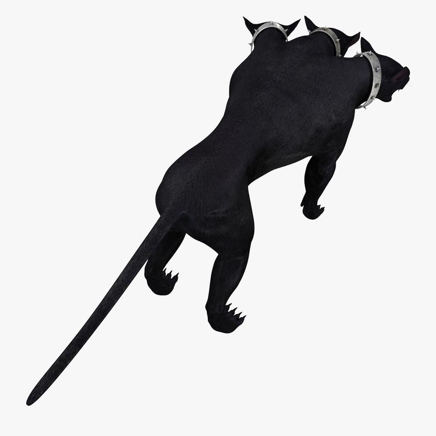 Cerbero de perro de tres cabezas royalty-free modelo 3d - Preview no. 9