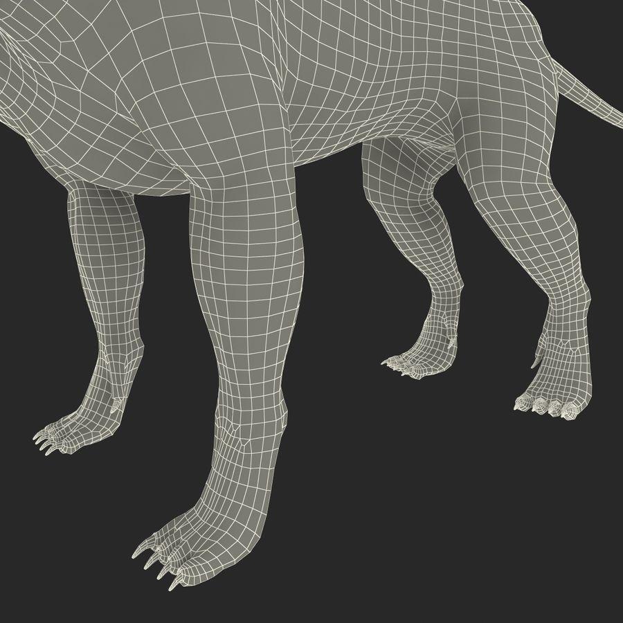 Cerbero de perro de tres cabezas royalty-free modelo 3d - Preview no. 20