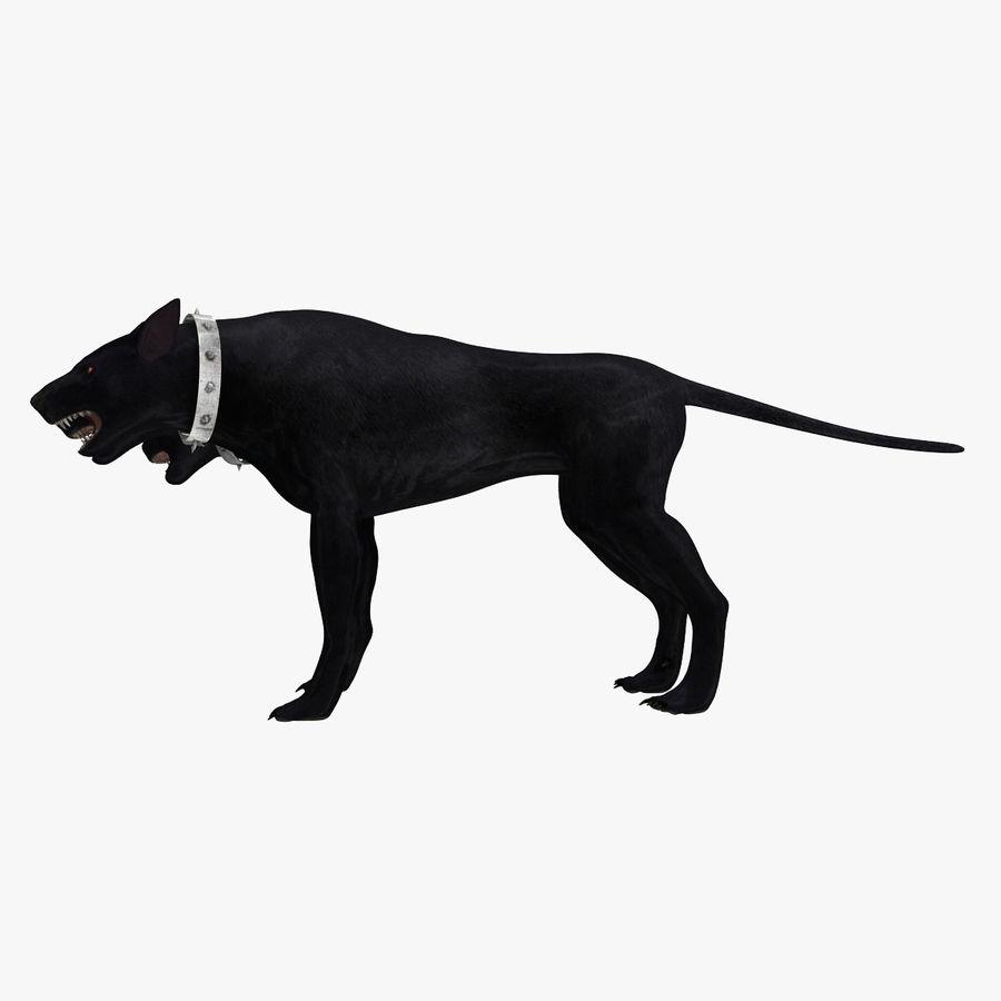 Cerbero de perro de tres cabezas royalty-free modelo 3d - Preview no. 3