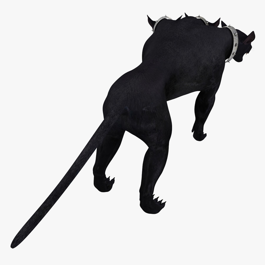 Cerbero de perro de tres cabezas royalty-free modelo 3d - Preview no. 7