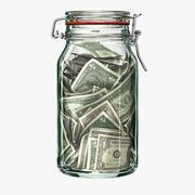 钱罐 3d model