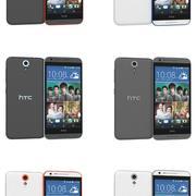 HTC Desire 620 Dual Sim All Colors 3d model