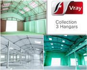 Collection Hangars 3d model