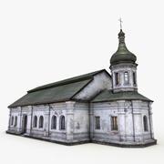Igreja do refeitório 3d model