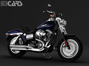 Harley Davidson Fat Bob 3d model