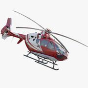 Eurocopter EC 135 Tıbbi 3d model
