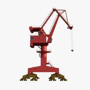 Portal Crane 3d model
