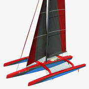 Ультим Класс Тримаран 3d model