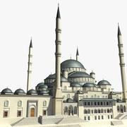 Mezquita Kocatepe modelo 3d