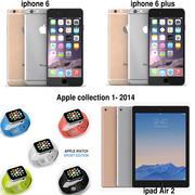 2014 Apple Koleksiyonu 3d model