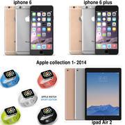 Collezione Apple 2014 3d model