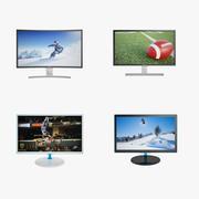 Collezione Samsung Monitor 01 3d model