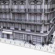 파리 코너 텐 멘트 호텔 01 3d model