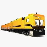 Industriell lokomotiv 3d model