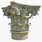 Capital Composite Order 3d model