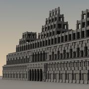古代幻想建筑005 3d model