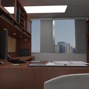 Escritório do gerente 3d model