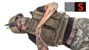 Soldato morto 3d model