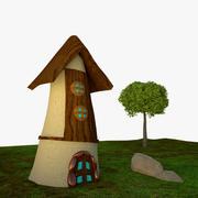 小さな家 3d model