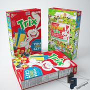 Trix spannmål 3d model
