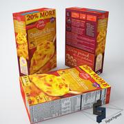 체다와 베이컨 감자 3d model