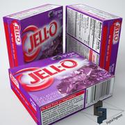 Jell-o Grape Gelatin 3d model
