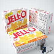 Jell-O Orange Gelatin 3d model