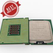 Intel Pentium D. 3d model