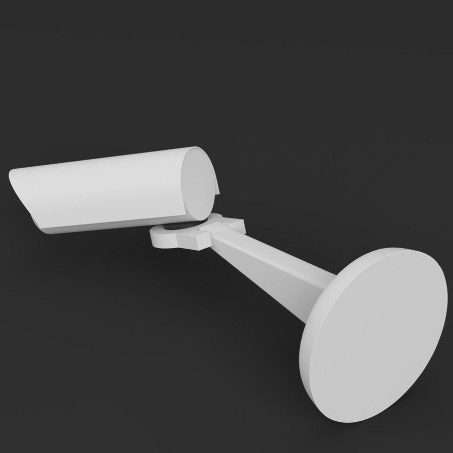 Surveillance camera 1 royalty-free 3d model - Preview no. 2