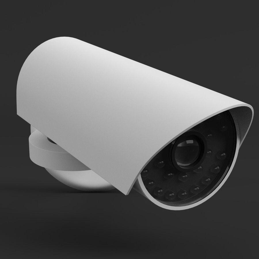 Surveillance camera 1 royalty-free 3d model - Preview no. 3