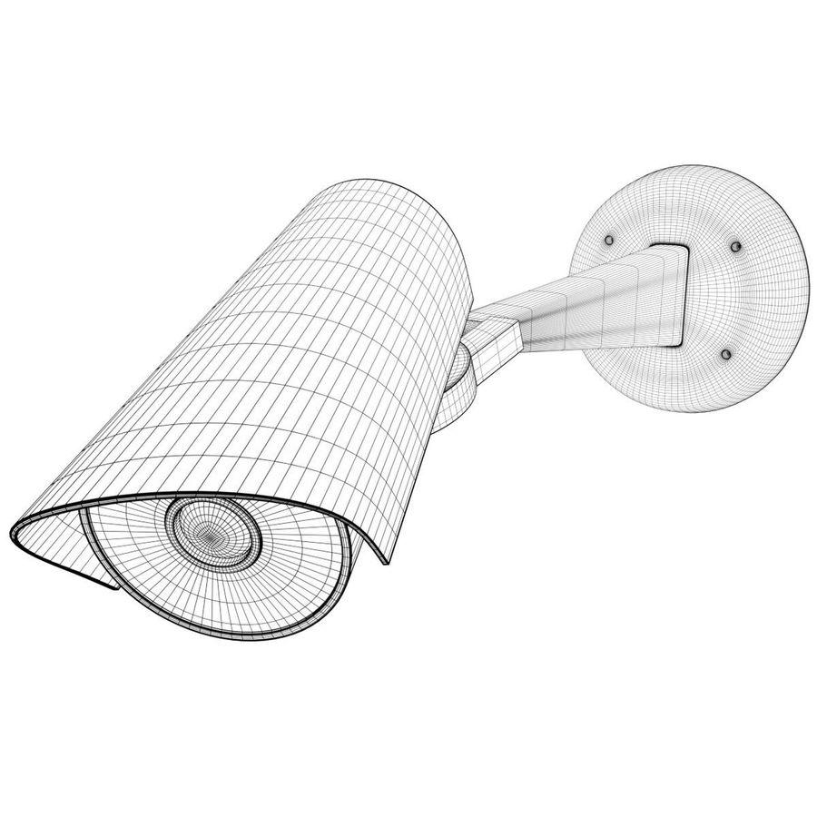Surveillance camera 1 royalty-free 3d model - Preview no. 7