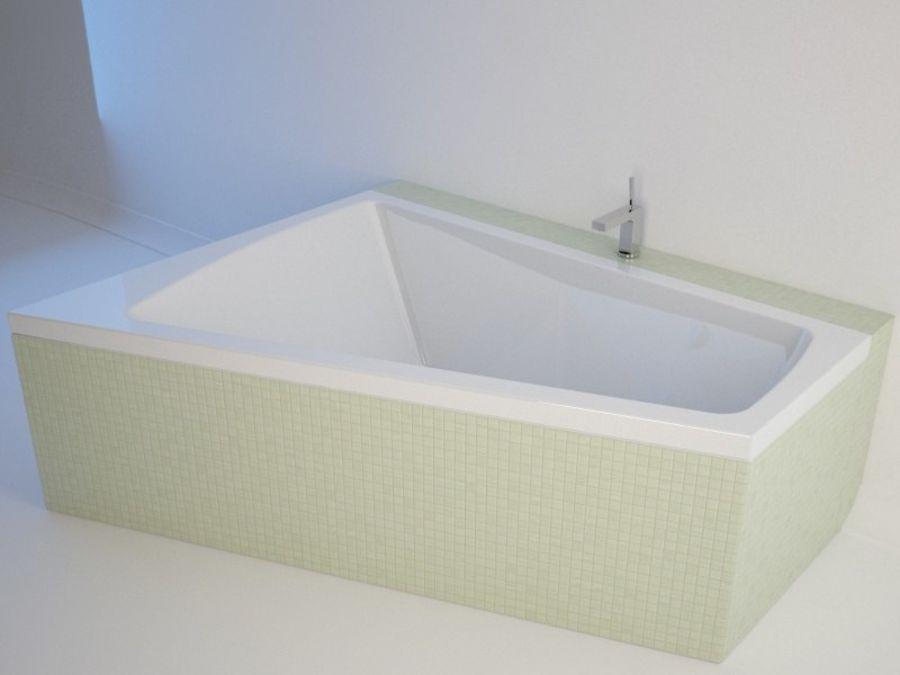 浴缸DURAVIT Paiova royalty-free 3d model - Preview no. 1