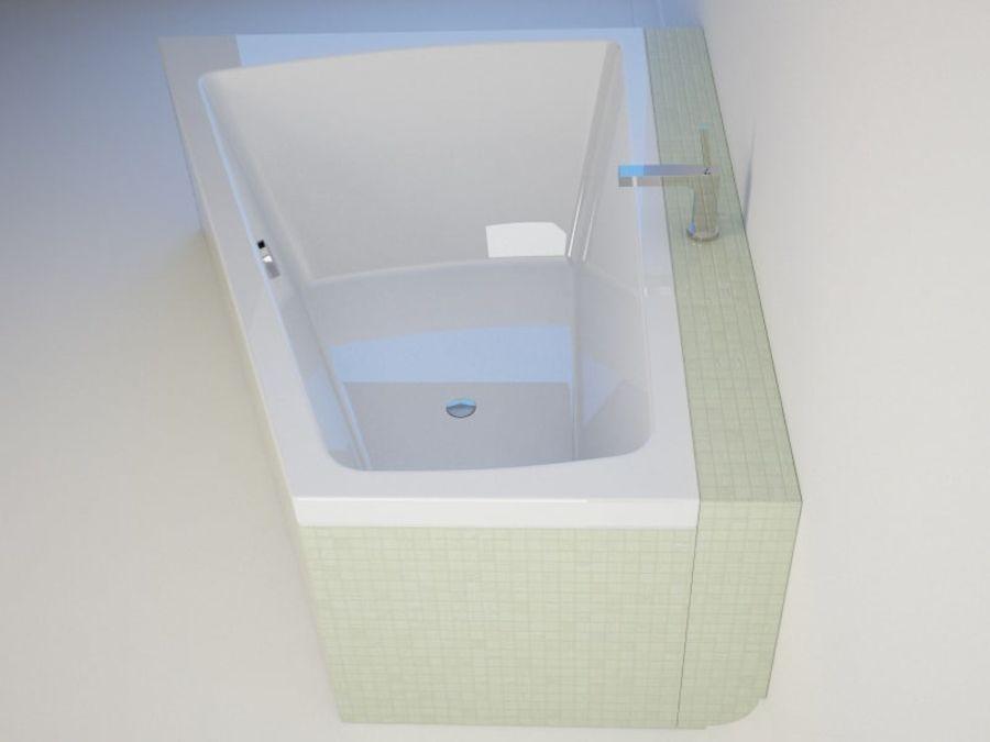 浴缸DURAVIT Paiova royalty-free 3d model - Preview no. 5