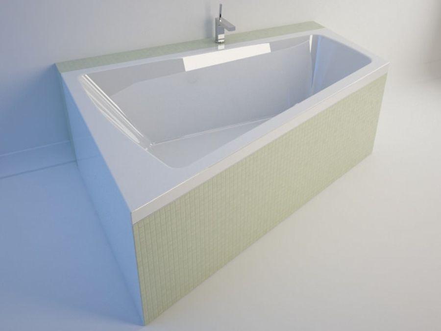 浴缸DURAVIT Paiova royalty-free 3d model - Preview no. 3