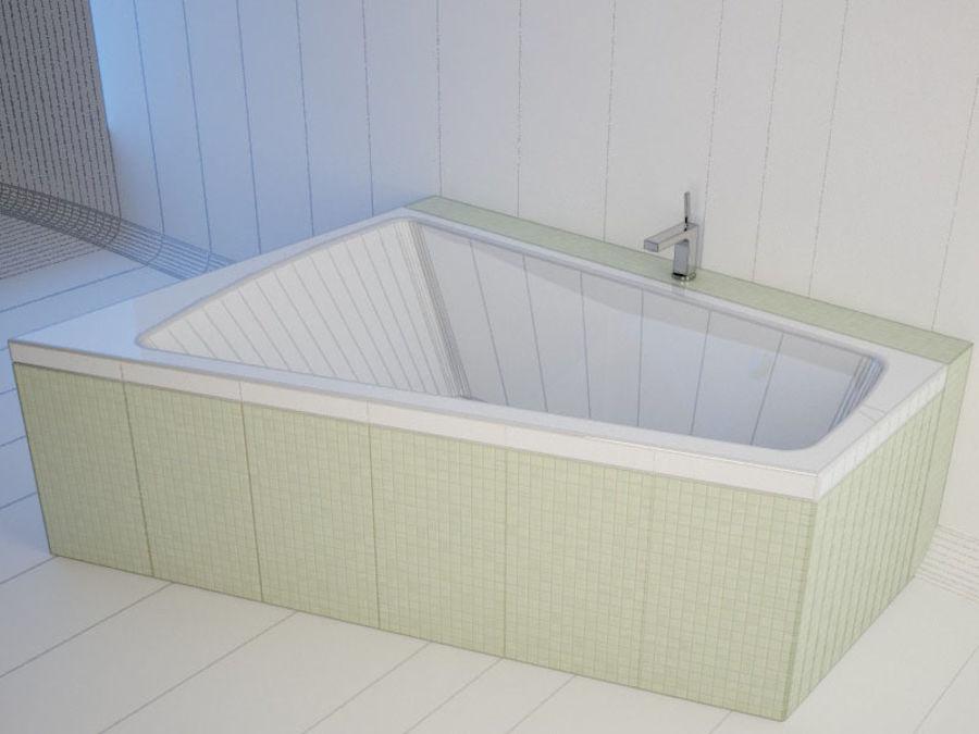 浴缸DURAVIT Paiova royalty-free 3d model - Preview no. 2