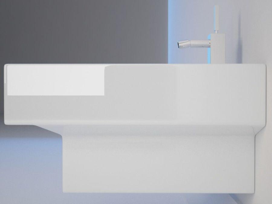 坐浴盆Duravit Vero royalty-free 3d model - Preview no. 4