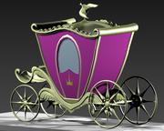 Chariot d'entraîneur 3d model