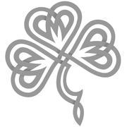 Shamrock celtique 3d model