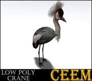 Low Poly Crane 3d model