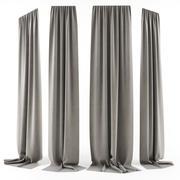 Curtain [Long] 3d model